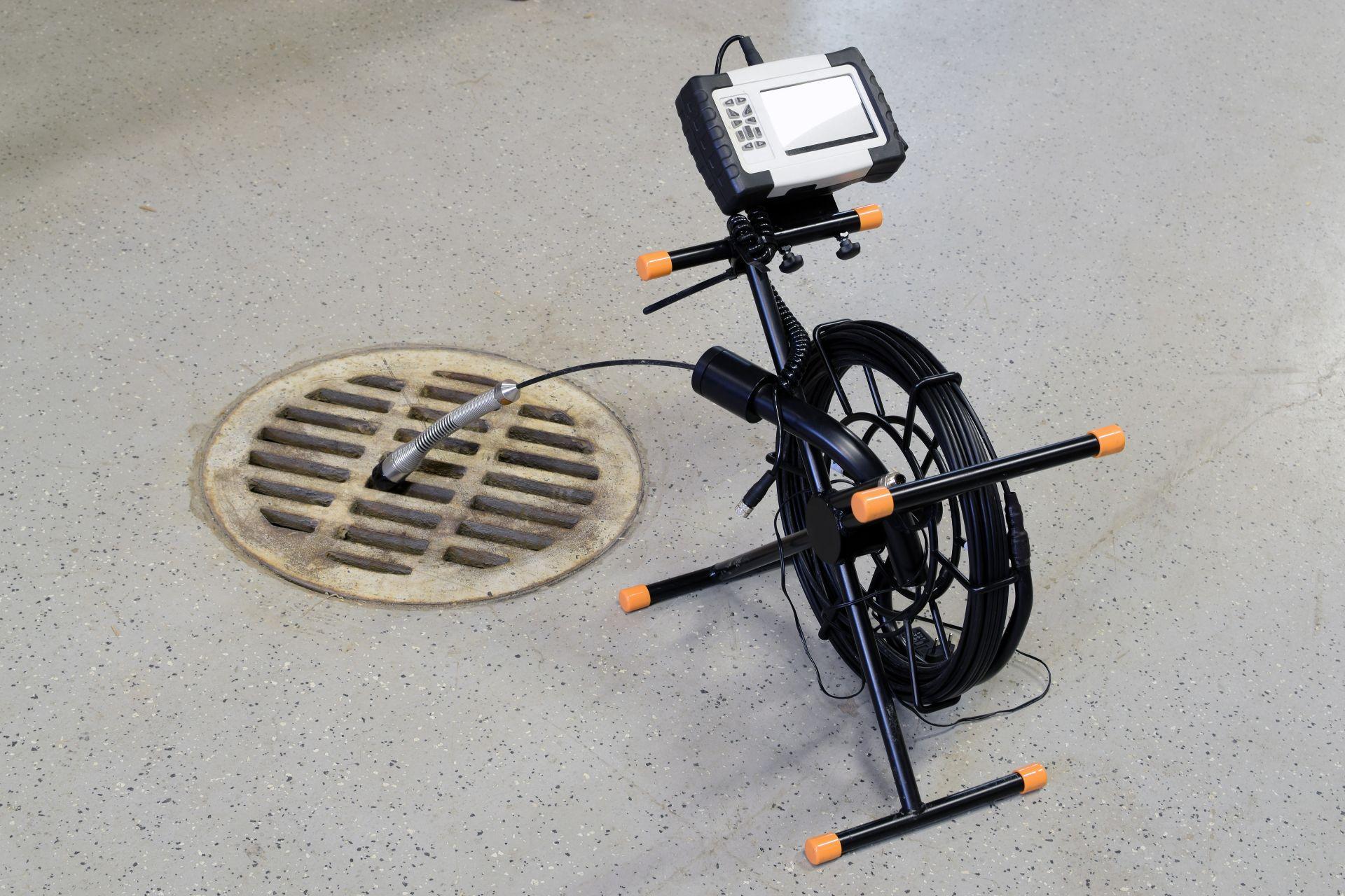 drain camera