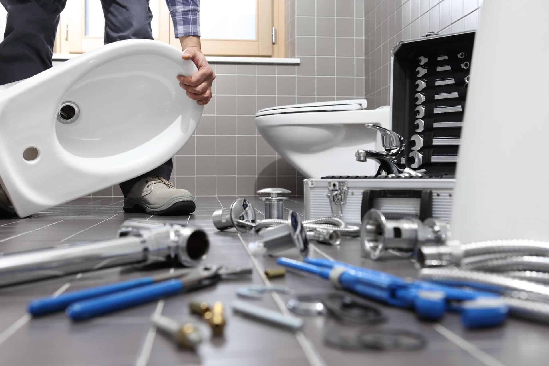 Toilet Install Toilet Blockage Repair